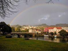 """Arcos Íris de #Valdevez  em modo cores """"naturais"""" no passado Sábado - facebook.com/ArcosdeValdevez -"""