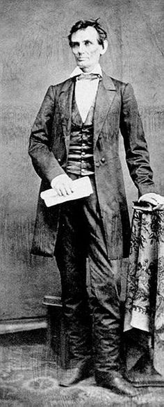 Abraham Lincoln in 1860 #History #culture