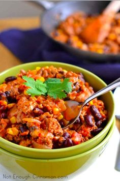 20-Minute Turkey Chili With Black Beans and Corn | 20 meals you can make in 20 minutes