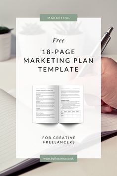 A free 18-page marketing plan template   #marketingplan #freetemplate #marketingtips #freelancetips Online Business Plan, Using Facebook For Business, How To Use Facebook, Business Coaching, Small Business Marketing, Business Tips, Content Marketing Tools, Online Marketing, Marketing Plan Template