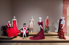 The Ladies in Red: A handful of dresses and gowns designed by Oscar de la Renta for his closest friends and family. See the SCADODLR exhibition Feb. 5 to May 3 at the SCAD Museum of Art.