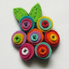 Broche flores | Lidia | Flickr