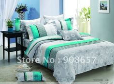 Teal And Grey Bedding Sets Rxzccnf