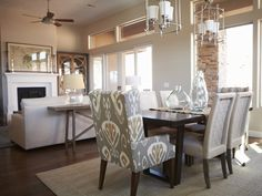 Alice Lane Home Collection | St. George Parade of Homes Somerset - Great Room - Dining