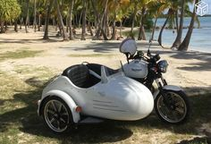 Side car triumph bonneville