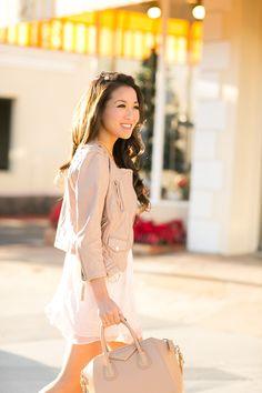 Dress :: Alice Ritter, Shoes :: Jimmy Choo, Bag :: Givenchy, Accessories :: Arme De L'Amour necklace, Wendy's Lookbook X Tacori bracelet, B-Low the Belt belt