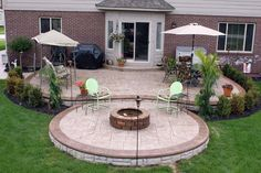 Slideshows-Photo Gallery Stamped Concrete Macomb County, MI Biondo Cement
