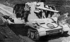 8.8cm FlaK auf Sonderfahrgestell during firing trials