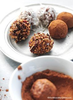 A simple but decadent Chocolate Cheesecake Truffles recipe that are perfect for any special occasion especially the holidays.