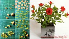 Nylon Flowers, Polymer Clay Flowers, Flower Tutorial, Holiday Decor, Crochet, Facebook, Stuff Stuff, Cold Porcelain, Plants