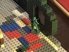 Assault on Forgrat Phase II (TURN FOUR) - The BrikWars Forums The Marksman, Green Army Men, Up Quotes, Get Shot, It Is Finished