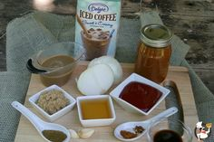 International Delight coffee barbecue sauce?  My mouth is watering already!  Thanks Liz and Doug! @PktChangGourmet #IcedDelight