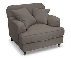 Poltrona in poliestere e faggio lily antracite - Colore antracite  ad Euro 459.00 in #Bench berg #Furniture sofas couchesbenches