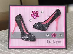 Sparkled Memories: Thank You Card!