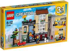 Buy LEGO Creator 31065 Park Street Townhouse from our Construction Toys range at John Lewis & Partners. Lego Creator Sets, The Creator, Lego City, Legos, Lego Lego, Modele Lego, Black Railing, Townhouse Exterior, Van Lego