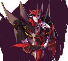 Half cow half boy all cowboy • Starscream and Knockout (My god the personal...