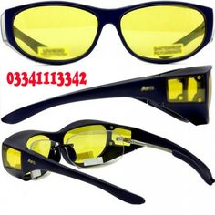 5991536794 Hd `~Night Version Glasses`~ in Pakistan  Karachi  Shop online hd Night Vision  Glasses Bes tand Latest Product For Night Car Driving.