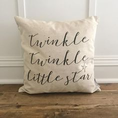 Twinkle Twinkle Pillow Cover // from our Spring 2017 Collection! Shop at sovintagechic.com