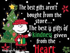 This is true! Be kind, true, and nice to others this holiday season! Peanuts Christmas, Christmas Greetings, Winter Christmas, Christmas Holidays, Christmas Crafts, Merry Christmas, Christmas Scenes, Christmas Wishes, Vintage Christmas