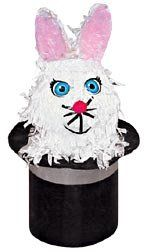 """Rabbit in the Hat Pinata by Aztec Imports. $15.99. Pinata filler sold separetely. 23"""" h x 14"""" w."""