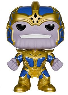 From theGuardians of the Galaxyfilm comes this Guardians of the Galaxy Thanos 6-Inch Pop! Vinyl Bobble Head Figure! This Guardians of the Galaxy Thanos 6-Inch Pop! Vinyl Bobble Head Figure stands ...