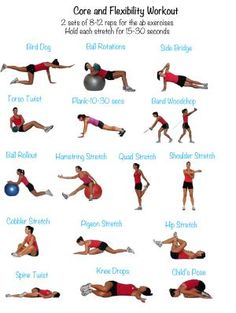 90 Days to Fitness and Weight Loss - Week 5 Workouts: Sunday - Core and Stretch - 10-20 minutes