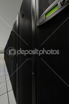 Data center computers — Stock Photo © Zoran Skaljac