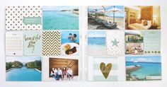 Make Ideas Happen: 2015 Project Life Creative Team + Plans , Heidi Swapp Gold Foil, Becky Higgins, Philippines, Beach, travel, vacation