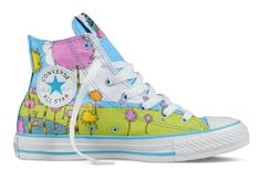"From Converse, Lorax themed  Chuck Taylor's inspired by the new Dr Seuss movie ""The Lorax"".  Fresh and fun!"