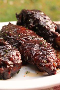 Baked Barbecue Turkey Wings | I Heart Recipes