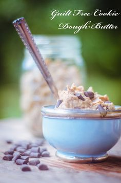 Guilt Free Cookie Dough Butter (GF + Vegan) - GoodnessGreen another chick pea recipe, I must try this!