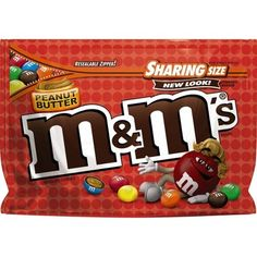 One oz sharing size bag of M&M'S Almond Chocolate Candy. Split a sharing-size bag of M&M'S Chocolate-covered Almonds with coworkers and friends or add colorful, nutty fun to brownies and desserts with M&M'S Almond Candy! Chocolate Caramels, Chocolate Treats, Mint Chocolate, Chocolate Covered, Peanut Butter M&ms, Chocolate Peanut Butter, Chocolate Brands, Easter Candy, Colorful Candy