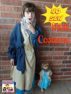 Easy no sew Bible costume  sc 1 st  Pinterest & Bible costumes. Really easy to make. Used flat sheets folded in ...
