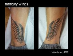mercury wings: to have when I run!