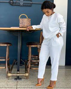 Look Fashion, Fashion Outfits, Womens Fashion, Fashion Beauty, Classy Outfits, Stylish Outfits, Mode Kimono, African Fashion Dresses, Two Piece Outfit