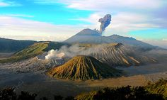 Bromo is the best place to see... don't forget to see Toba Lake, the largest lake in south east asia... its awesome tooo