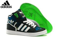 watch ffade 98be8 MensWomens Adidas Originals Extaball High Top Leather Basketball Shoes  Black M19462,Adidas-Originals Shoes Sale Online