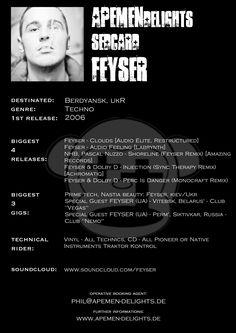 Sedcard: Feyser