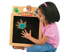 Color-Changing Touch Board at Lakeshore Learning