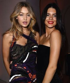 According to these videos, Kendall Jenner &; Gigi Hadid are having an AWESOME time