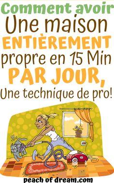 Comment Nettoyer Sa Maison En 15 MIN Par Jour