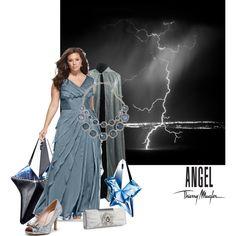 """""""Rainstorm angel"""" by maria-kuroshchepova on Polyvore"""