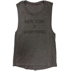 The Big Apple. The Capital of the World. The City of Dreams. The City So Nice, They Named It Twice. The City That Never Sleeps. Empire City. Gotham. It was love at first sight! Dark gray heather women