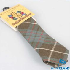 McIntyre Hunting Weathered Tartan Childs Tie