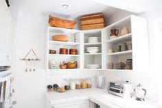 11 Smart Ways to Use the Space Above Your Cabinets — Small Space Kitchens