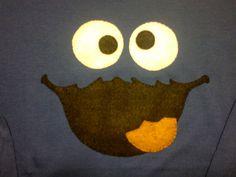 las cositas de pepi: camiseta decorada en fieltro