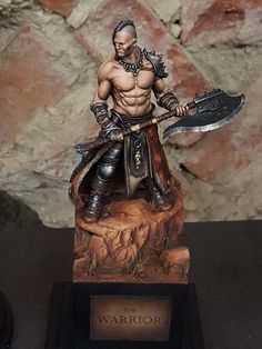 The best pieces of the Monte San Savino 2016 miniature modelling show. Fantasy Figures, Fantasy Characters, Fantasy Art, Dungeons And Dragons Figures, Modelos 3d, Warhammer 40k Miniatures, Fantasy Miniatures, Miniature Figurines, Warhammer Fantasy