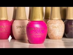 SpaRitual GOLD: Two-Step Flexible Color System - Style - NAILS Magazine