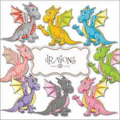 here there be dragons Dragon Birthday Parties, Dragon Dreaming, Cross Stitch Fairy, Daycare Forms, Unicorn Fantasy, Dragon Art, Illustrations, Pictures To Draw, Baby Cards
