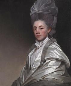 Portrait of Jane Dawkes Robinson by George Romney c. 1778